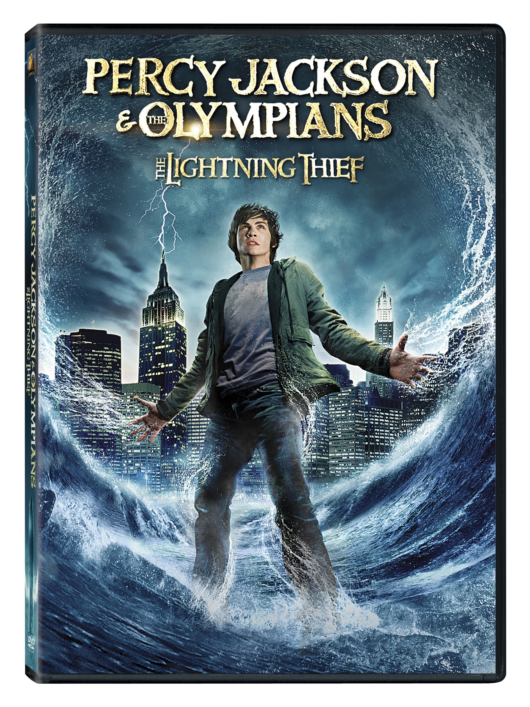 Percy Jackson The Olympians The Lightning Thief Fox 2000 Pictures Dvd C 2010 Wandering Through The Stacks