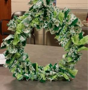 st. pattys wreath