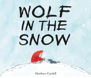 wolf in the snow caldecott