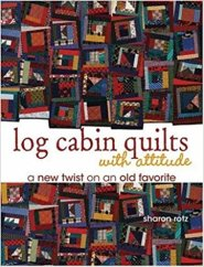 log cabin quilts with an attitude